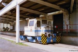 Danisco Traktor (Schöma 3135/1970). Sakskøbing 25.04.1997.