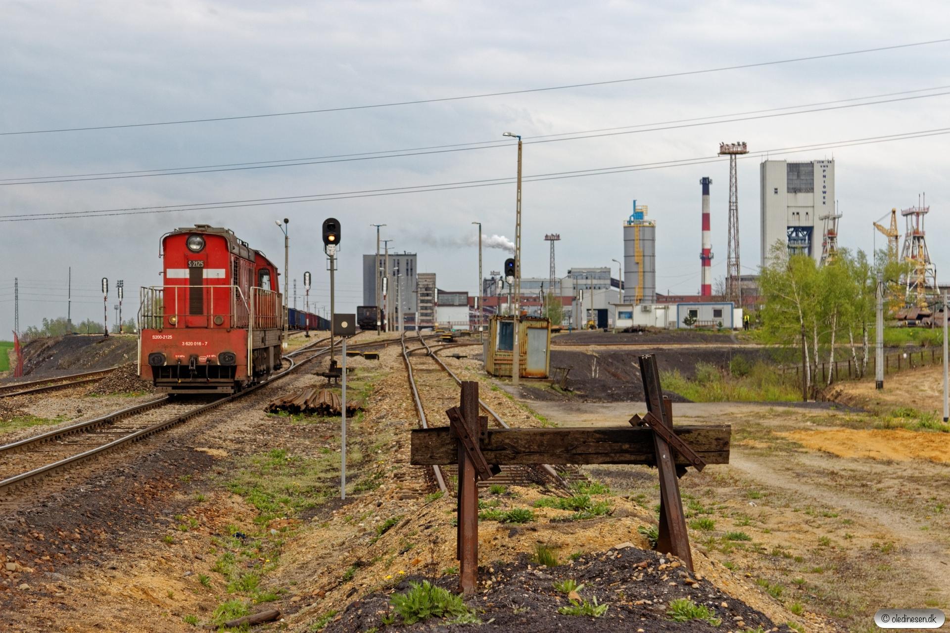DBSRP S200-2125 rangerer. KWK Pniówek 23.04.2019 kl. 17.07.