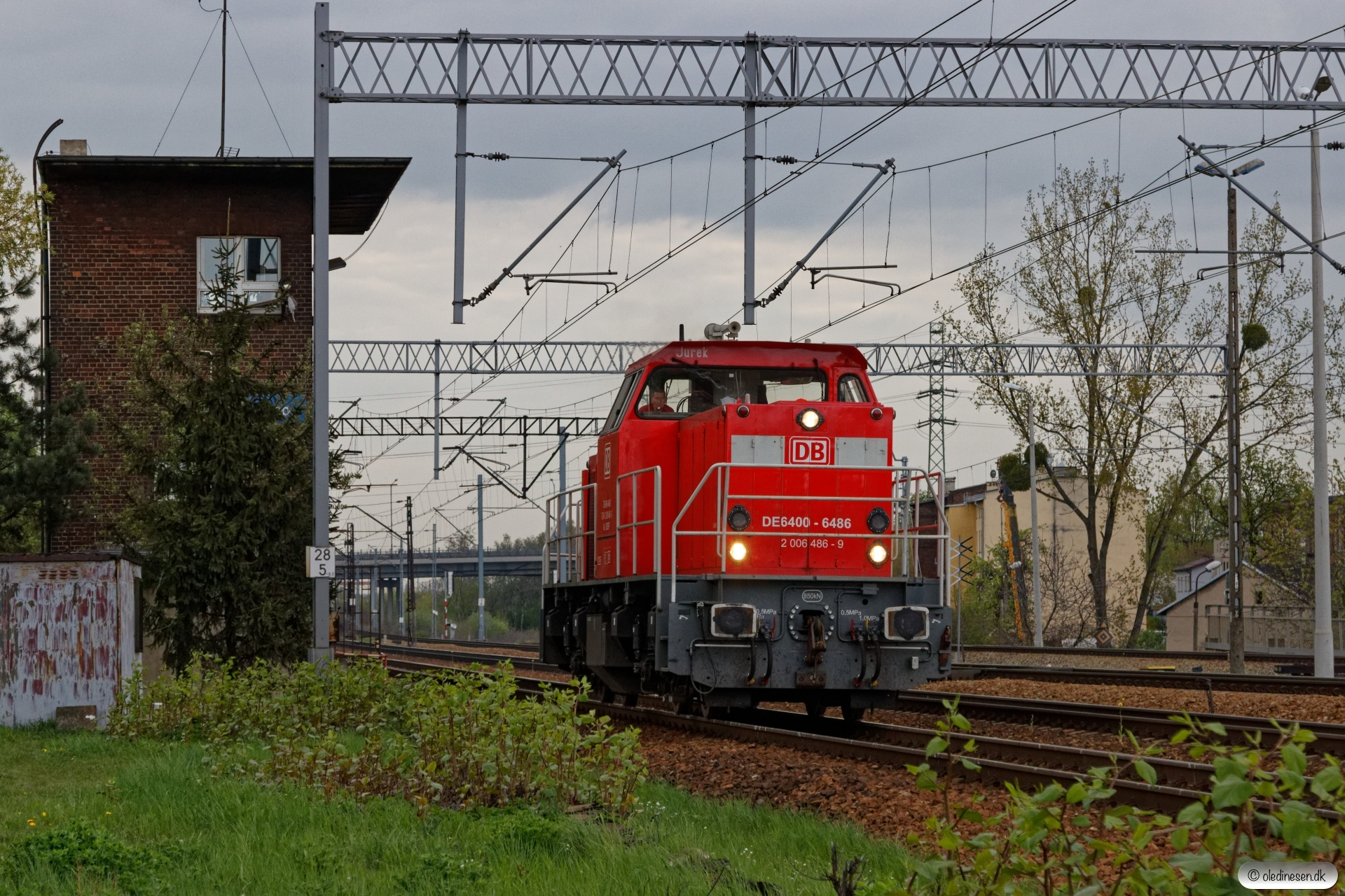 DBSRP DE6400-6486 solo. Szobiszowice 24.04.2019 kl. 17.29½