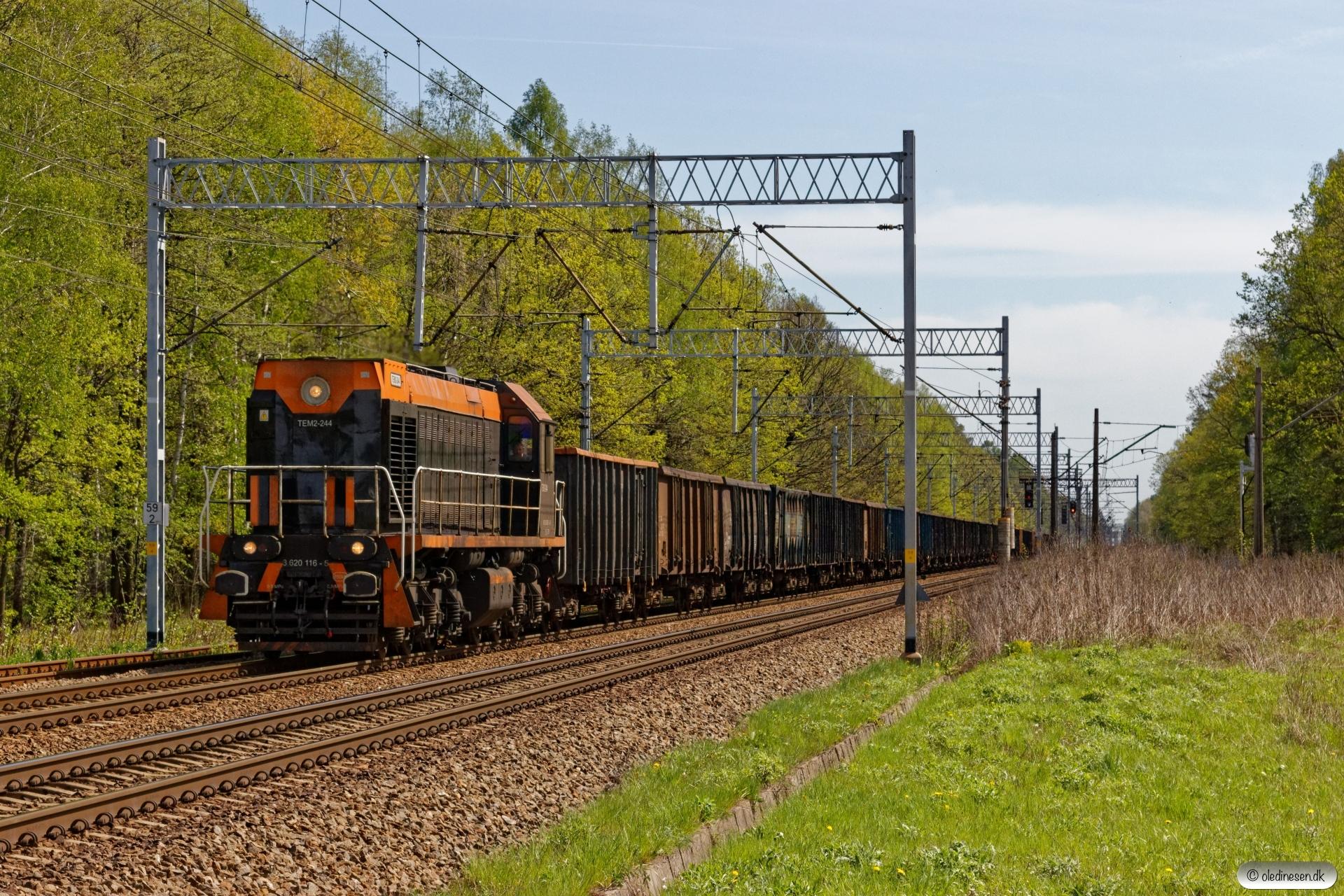 ZPS TEM2-244+42 Eaos. Bronów - Chybie 26.04.2019 kl. 11.11.
