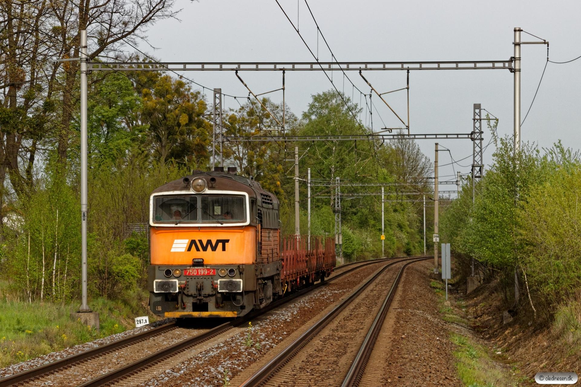 AWT 750 199-2+3 Res. Závada (Tjekkiet) 26.04.2019 kl. 16.07½.