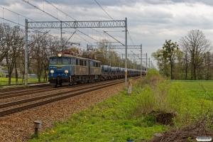 PKPC ET41-062+31 stålvogne. Chybie - Drogomyśl 23.04.2019 kl. 15.23.