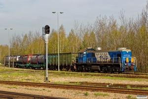 PKPLS SM48-013 rangerer. Sławków Południowy LHS 25.04.2019 kl. 08.53.