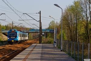 KSL EN57KM-3001 som Os 94309. Mysłowice Kosztowy 25.04.2019 kl. 17.09.