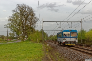 ČD 810 479-6 som Os 3036. Závada (Tjekkiet) 26.04.2019 kl. 16.41.