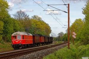 HHJ DL 11+RGGJ C 3+FFJ C 72+OKMJ A 10+HHJ C 25+KS C 3 som VM 222603 Od-Lk. Km 165,8 Kh (Odense-Holmstrup) 15.05.2017.