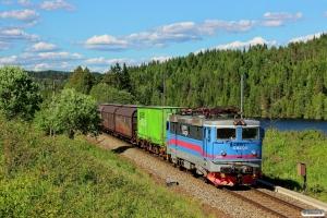 GC Rc4 1166 med Gt 45695. Åbogen - Matrand 10.06.2014.