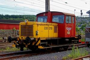 NSB Skd 220.210c. Kongsvinger 10.06.2014.
