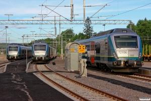 NSB BMa 72003, BMa 72036 og BMp 72106. Kongsvinger 10.06.2014.