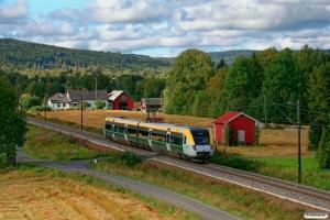 VTAB X53 9048 som Pt 1071. Galterud - Kongsvinger 17.09.2010.