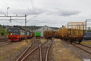 HCTOR 161.104, 161.106, BRLL Rc3 1065 og NRFAB TMZ 1460. Kongsvinger 22.06.2018.