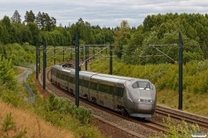 GMB BM 71008 som Pt 3745 (Drammen-Gardermoen). Langeland - Skåntjern Bp 22.06.2018.