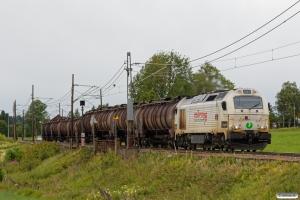 RCT T68.902 med Gt 5072 (Gardermoen-Loenga). Asper 22.06.2018.