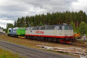 RCT TMZ 1407 og NRFAB TMZ 1448. Elverum 22.06.2018.