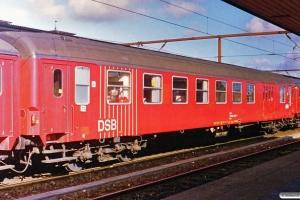 DSB BDk 50 86 82-33 011-4. Roskilde 14.03.1989.