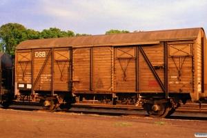 DSB Gs 01 86 120 3 487-8. Odense 14.07.1988.