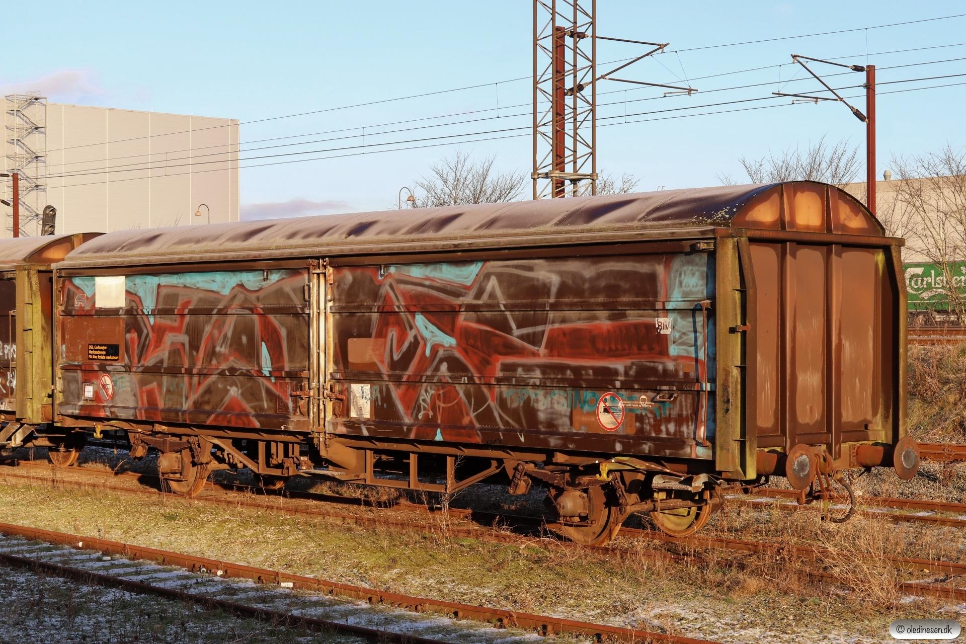 DSB Hbis-x 42 86 225 5 104-5. Fredericia 16.01.2021.