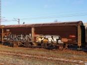 DSB 40 86 942 2 501-7 (ex. Hbis 01 86 225 0 118-9). Fredericia 16.01.2021.