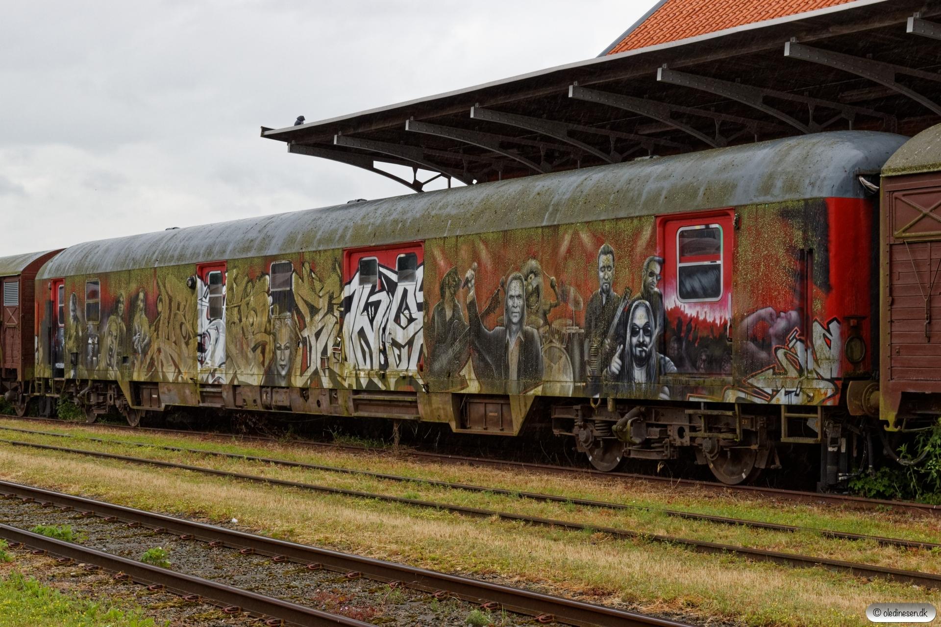 DSB Pbm 50 86 90-44 750-5 - Tilhørende Spillestedet Godset. Kolding 08.06.2019.