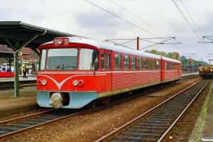 LJ Ym 60+Ys 83 som P 5024 Nsk-Rg. Ringsted 02.10.1990.