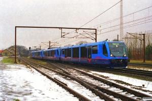 LNJ Lm 23+Lm 24+Lm 22+Lm 25 som PX 6463/91556 Pa-Hl-Gj. Tommerup 19.02.1999.