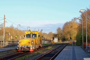 INFRA 3143C (IMV100) ankommer til stationen fra værkstedet inden dagens testkørsel på LNJ. Jægersborg 17.04.2016.