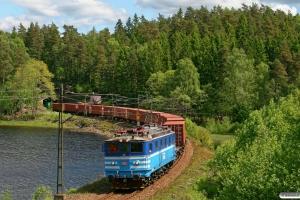 NR Ma 825 med GT 49302. Härryda - Mölnlycke 03.06.2012.