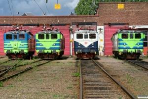 TGOJ Ma 876, Ma 833, NR Ma 827 og TGOJ Ma 965. Eskilstuna 28.08.2011.