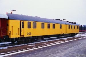 DSB Målevogn 60 86 99-92 001-3. Nyborg 01.02.1996.