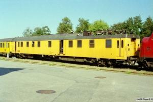 DSB Målevogn 61 86 99-92 001-2. Padborg 13.08.2000.