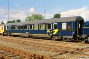 DSB Målevogn 61 86 99-90 003-0. Rødekro 12.06.2004.