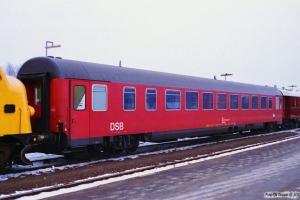 DSB Målevogn 60 86 99-90 006-8. Nyborg 01.02.1996.