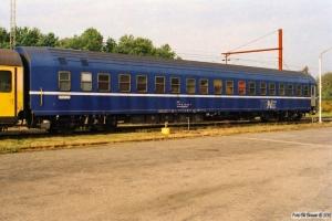 DSB Måleledsagevogn 61 86 99-69 008-6. Rødekro 20.10.2001.