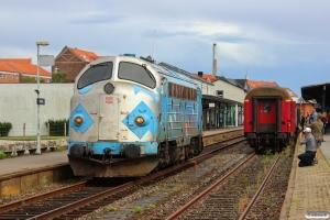 DSB MY 1126 under omløb. Randers 23.08.2014.