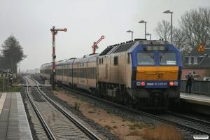 NOB DE 2700-07 med NOB 80521. Klanxbüll 28.02.2009.