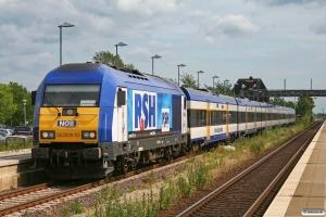 NOB DE 2000-03 med NOB 80514. Klanxbüll 26.06.2009.