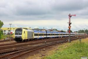 NOB ER 20-001 med materiel til NOB 81717. Westerland 28.06.2014.