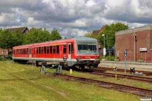 CFL 928 505+928 506. Niebüll NEG 30.05.2015.