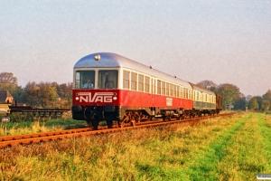NVAG T 3+DB Dms+Gos-uv som NVAG 3. Deezbüll - Maasbüll 13.10.1990.