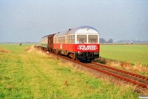NVAG T 3+DB Gos-uv+ABm som NVAG 13. Massbüll - Blocksberg 13.10.1990.