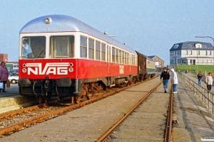 NVAG T 3+DB Gos-uv+ABm som NVAG 13. Dagebüll Mole 13.10.1990.