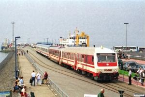 NVAG 101+T 4+2 DB Bimz som NVAG 14. Dagebüll Mole 11.08.2002.