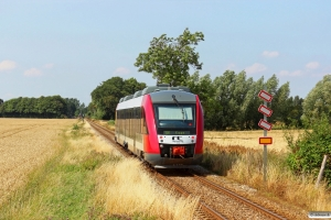 RT 2035+2135 som Tog 204059 Rd-Kj. Km 7,4 Hw (Klippinge-St. Heddinge) 06.08.2013.