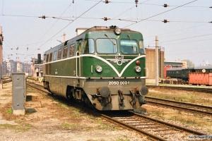 ÔBB 2050 002-1. Wien Nord 13.04.1991.