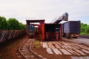 Lok 110 (Schöma 1971). Lille Vildmose 22.06.1995.