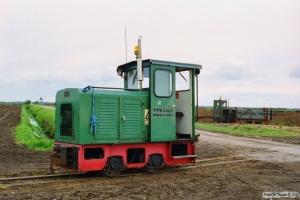 Lok 111 (Schöma 1986) og 102. Lille Vildmose 22.06.1995.