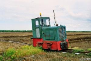 Lok 108 (Pedershåb Maskinfabrik 1940). Lille Vildmose 22.06.1995.