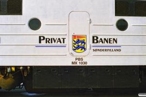 PBS MX 1030. Tønder 27.09.1997.