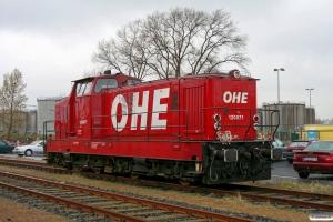 OHE 120071 (Deutz DG 1200 BBM). Hamburg-Waltershof 11.04.2008.