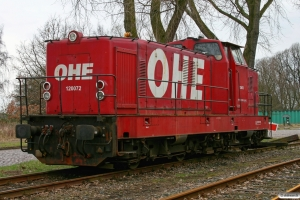 OHE 120072 (Deutz DG 1200 BBM). Hamburg-Waltershof 28.03.2009.